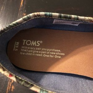 Toms Shoes - Toms   Fern green cactus classic alpargatas